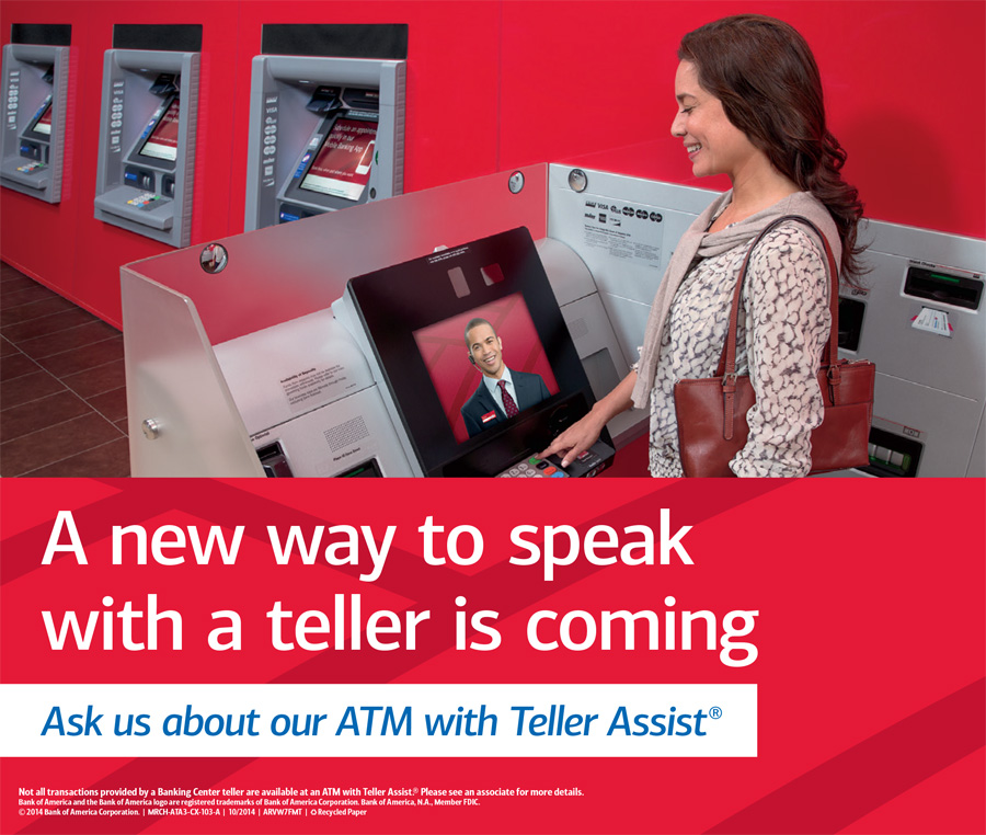 ATM with Teller Assist