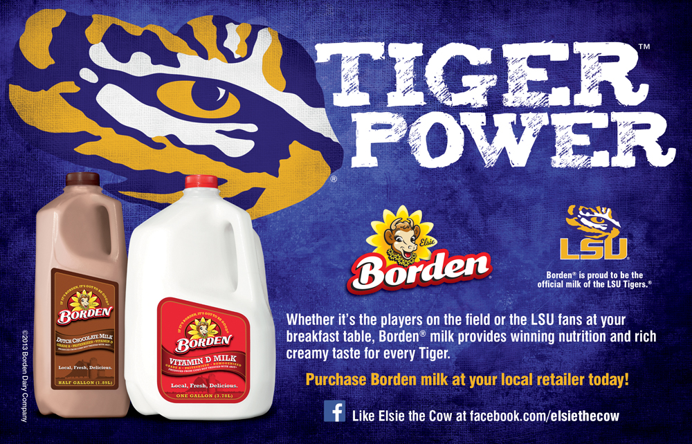 LSU Program Ad